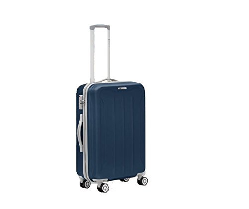 Trolley Medio 4R - RONCATO FLIGHT - Abs Light - TSA - (BLU NAVY)