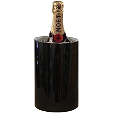 El Rey internacional - acero inoxidable color negro/de la cerveza de la tapa de tabla/enfriador de vino - 1250