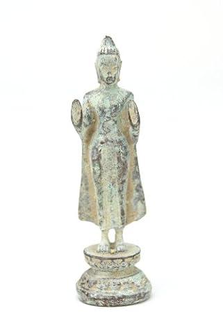 Amulette antique bouddhiste - Thai Bouddha debout - Code produit