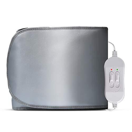 ZUZEN Gurtvibrationsmassagegerät Ferninfrarot-Heizung Gurtvibrationsfett Gurtvibrations-Bauchmassage 360   °