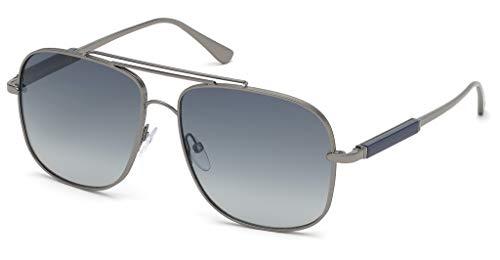 Tom Ford Sonnenbrillen JUDE FT 0669 DARK RUTHENIUM/BLUE SHADED Herrenbrillen