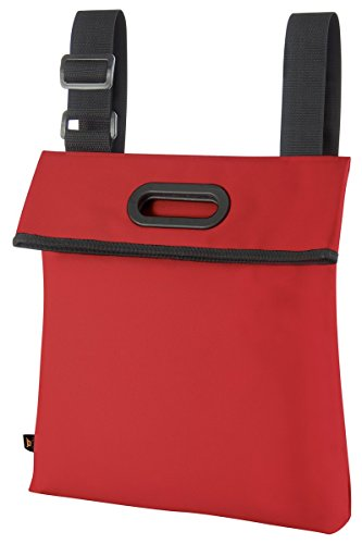 Halfar , Borsa Messenger  Blu Blu 37 x 43 x 7,5 cm Rosso