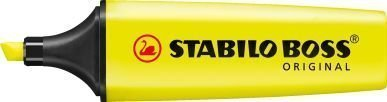 pack-of-3-yellow-stabilo-boss-highlighters-fluorescent-colours-water-based-ink