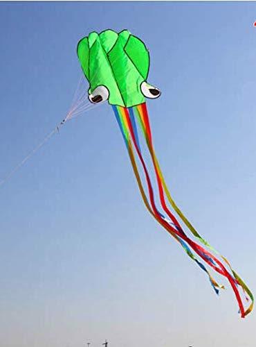 FSUMMER Al Aire Libre Hermoso Diversión Juguete Deportivo Regalo Chino Cometas para niños 4M Nuevo Software de diseño Poliéster Fácil Volar Colorido Pulpo Cometa Volar