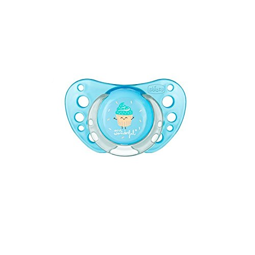 Chicco Physio Air Mr Wonderful Chupete Silicona Rosa 0-6m