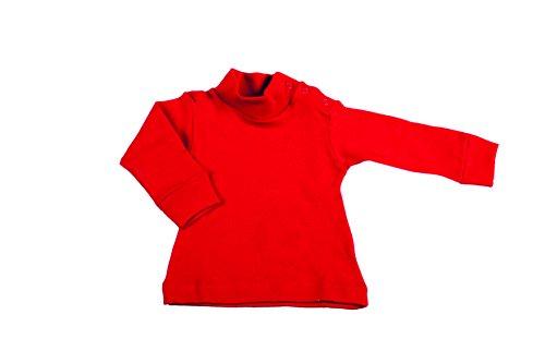BabyVip - Body Rollkragenpullover Junge Mädchen Neugeborenes Baby Langarm 100% Baumwolle Hot - 12-18monaten (Herren-mock Rollkragenpullover Baumwolle)