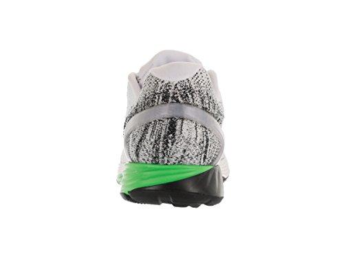 Nike Lunarglide 7, Chaussures de Running Entrainement Homme Blanc Cassé - Blanco (Blanco (White/Black-Electric Green))