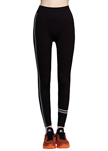 sports-pants-women-disbest-seamless-running-leggings-striped-nylon-slimming-hign-waist-yoga-leggings