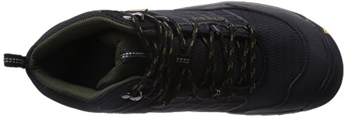 Keen Wanderschuhe SALTZMAN WP MID M BLACK/FOREST NIGHT