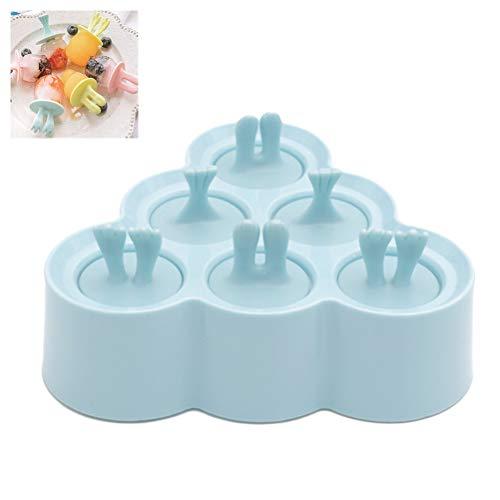 Kylewo Eisförmchen - ice pop Form,Mini-Eis pop Form, Form für Mini-Stieleis, Eis- und Lutscherformen