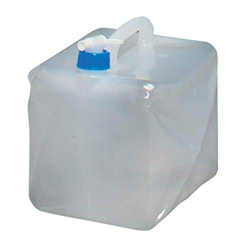 iBaste-ES de Almacenamiento de Agua Potable Bolsa de Agua 10L Bolsa Plegable BPA Libre Contenedor de Agua PE Portátil para Barbacoa Camping Senderismo Escalada Picnic Emergencias