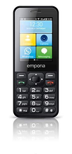 Emporia TALKsmart V800_001 Einfach zu bedienendes Tastenhandy mit Whatsapp Funktion und 5MP Kamera