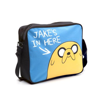 Adventure Time mb140311adv Jake 's in Hier Messenger Bag (Nickelodeon-spiele S)