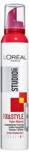 L'Oréal Paris Studio Line Fix&Style Fixier-Mousse ultra-starker Halt, 200ml