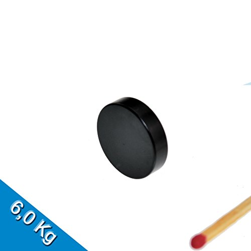 Auswahlangebot! Neodym Magnet Epoxy Nickel Scheibenmagnet Quadermagnet (20 x 5mm N45, Scheibenmagnet Epoxy) -