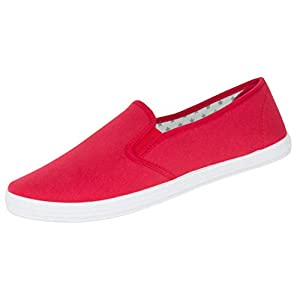 Beppi Damen Canvas Sneaker - Low-Top Espadrilles Sommerschuhe, Gr. 36-41