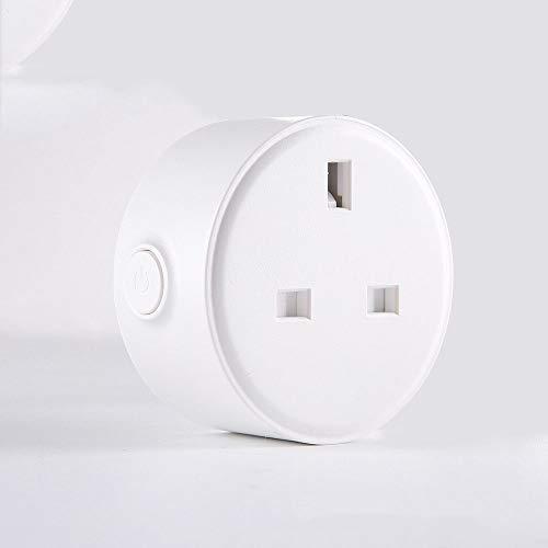 yjll WiFi Smart Plug Socket Compatible con Alexa , IFTTT Y The...
