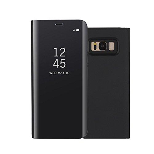 Galaxy S8 Plus Hülle,Shinetop Luxus Clear View Überzug Spiegel Schutzhülle Case Flip Handyhülle mit Standfunktion für Samsung Galaxy S8 Plus (2017) Ultra Dünn...