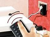 REVOLT PrimaSound Enchufe con infrarrojos: Enchufe con control remoto y sensor adaptable por infrarrojos (enchufe con infrarrojos)