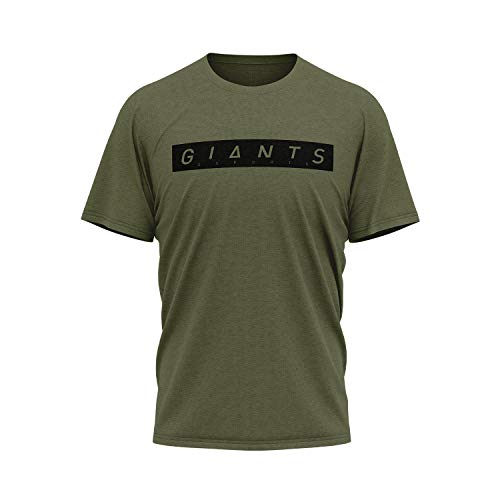 Camiseta Giants Esports Verde/Negro Militar Unisex
