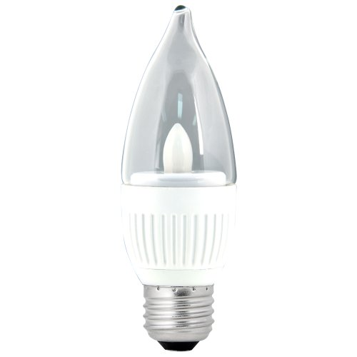 Feit Energiesparlampe Elektrische Wirtschafts- und finanzausschusses/DM/LED 3,5Watt, High Performance dimmbar Kronleuchter Glühbirne, mittlere Boden (Feit Glühbirnen)