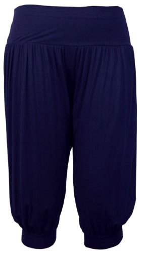 new-womens-plus-size-3-4-alibaba-hareem-pants-baggy-trousers-12-26-navy-uk-20-22-eu-48-50-