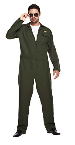 Costume da aviatore, pilota, da uomo