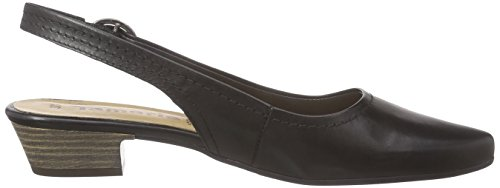 Tamaris29400 - Scarpe con Tacco Donna Nero (Schwarz (BLACK LEATHER 003))