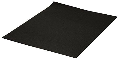 efco Extragroße Moosgummi-Platten schwarz