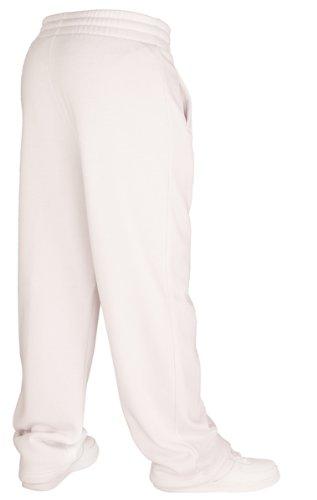 Pantalon de jogging pour femmes | Urban Classics Loose Fit Sweatpants | 11 Couleurs | Tailles: XS-XL + Bandana 2Store gratuit blanc