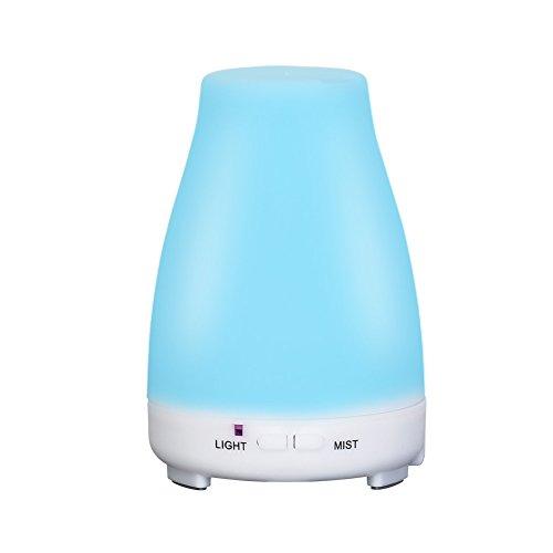 200ml Aroma Diffuser Ultraschall Luftbefeuchter Aromatherapie Duftlampe für Yoga Salon Spa