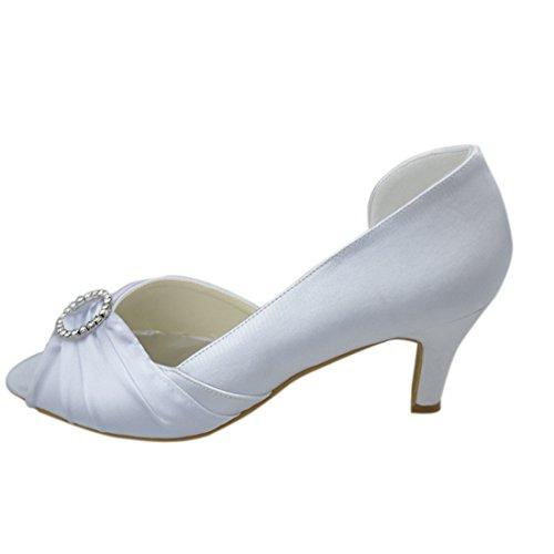 Minitoo , Escarpins pour femme White-8cm Heel