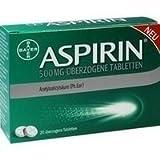 Aspirin 500mg 20 stk