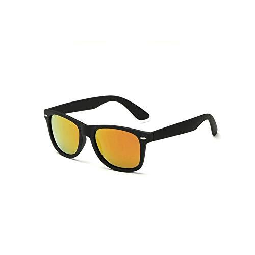 Sport-Sonnenbrillen, Vintage Sonnenbrillen, NEW HD Polarized Sunglasses Männer WoMänner Vintage BRAND DESIGN Square Frame Driving Eyewear For Male Rays Sun Glasses Goggle UV400 black F red