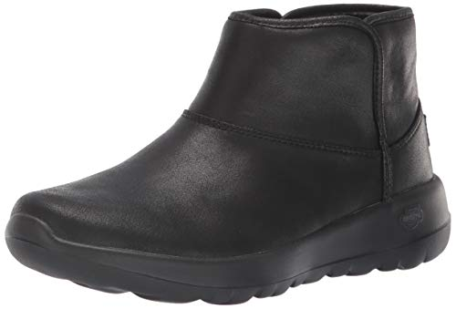 Skechers On The GO Joy-Harvest, Botines para Mujer, Negro (Black Textile BBK), 39 EU