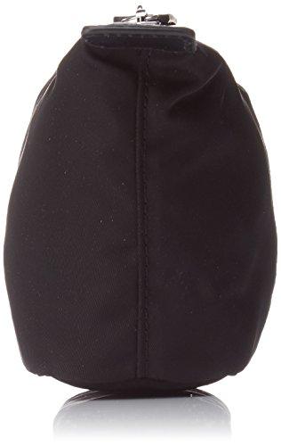 Lacoste L1212 Concept Cartera de nylon para Mujer, Color Negro (Black)