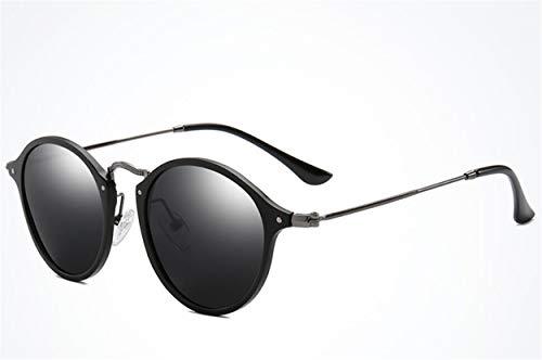 YINshop Sonnenbrille, Art und Weise dünnes HD polarisiertes Al-Mg-Metallvollbild-Unisexsport-Reiten im Freien, das Fischen antreibt A