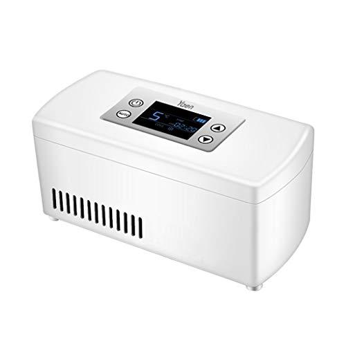319Lyoy8BxL - Drug Reefer, mini refrigerador, caja de insulina para diabetes, caja de insulina para automóvil, refrigerador para automóvil, refrigerador portátil pequeño para medicamentos (blanco) Edición estándar