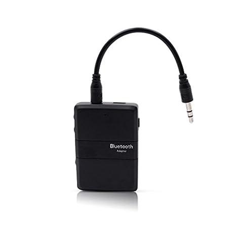 Bluetooth Empfänger und Sender, C 'est 2in 1Bluetooth 4.1Sender und Empfänger Wireless 3,5mm Adapter aptX geringer Latenz, 2Geräte gleichzeitig, für Home Sound System