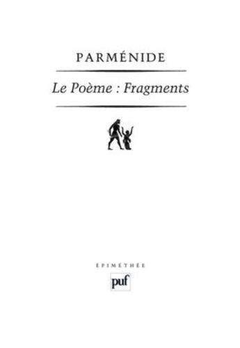 Le Poème. Fragments