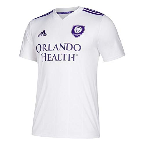adidas MLS Orlando City FC 7417 AOR9AZNORC Uomo Replica Jersey, Medium, Bianco