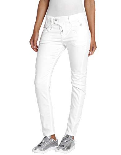 Gang Marge Deep Crotch Damen-Jeans, weiß, Gr.: 31