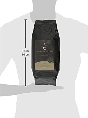 Spiller & Tait Signature Blend - Coffee Beans 1kg Bag - Award Winning - Top Speciality Coffee Roasted in the UK - Espresso Blend Suitable for All Coffee Machines - Premium Arabica Beans from Spiller & Tait