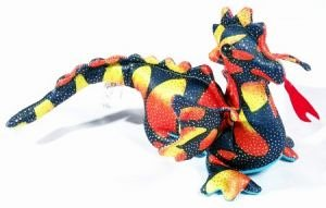 Small Sand Animal Flying Dragon (One supplied, colours vary)
