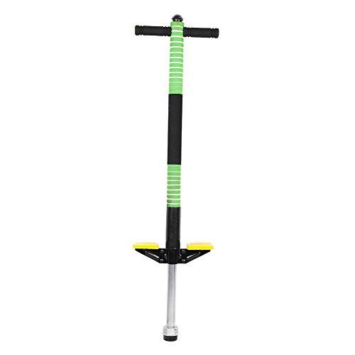 Cocoarm Pogo Stick Hüpfstab Sprungstange Jumper für Kinder von 7-12 Jahre Jungen und Mädchen (Grün) -