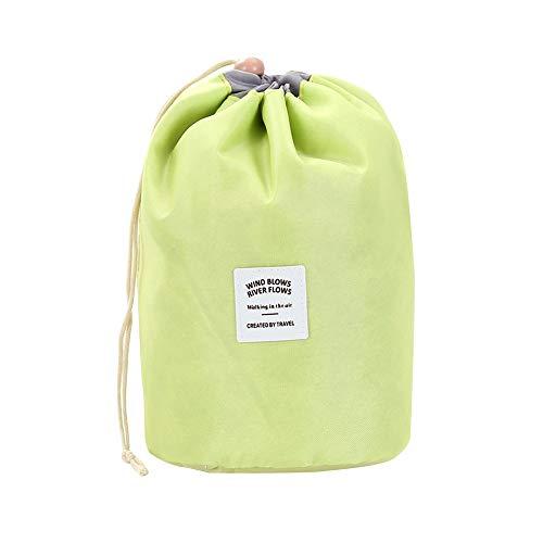GNYD Kosmetische Schmuck-Wash-Wäsche-hängende Toilettenartikelverfassungs-Reise-Speicher-Beutel-Kasten (Gelb)