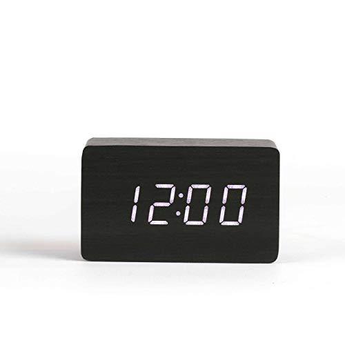 2019 Neuestes Design Clock Blauer Hintergrundbeleuchtung Digitale Alarm Tischuhr Uhr Snooze Led Uhr Zeigt Temperatur Uhrenkarte Werkzeuge Messung Und Analyse Instrumente