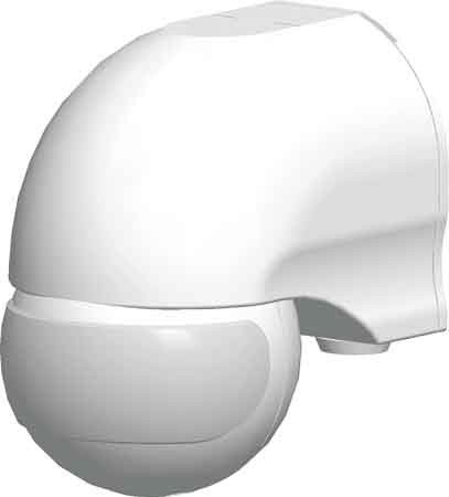 Grothe 5167048 Bewegungsmelder Grad 230 V, Aufputz, IP44, Mc Guard Mini BM 180, weiß