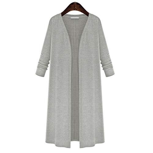 GNYD Damen Mantel Elegante Winter Warme Trenchcoat Jacke Mode Casual Lose Lange HüLsen Wolljacke üBersteigt Mantel Windjacke