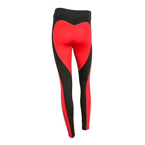 Damen Yoga Hosen Leggings Pants - Mxssi Frauen Streifendruck Sporthose Trainingshose Jogginghose Gymnastik Workout Fitness Leggings für...